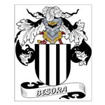Besora Family Crest Small Poster