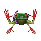 Snorkel Frog Postcards (Package of 8)