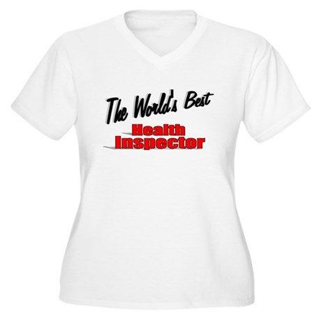 """The World's Best Health Inspector"" Women's Plus S"