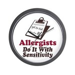 Allergist Immunologist Wall Clock