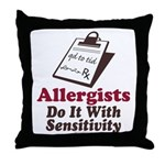 Allergist Immunologist Throw Pillow