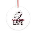 Allergist Immunologist Ornament (Round)