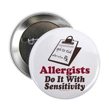 "Allergist Immunologist 2.25"" Button"