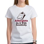Allergist Immunologist Women's T-Shirt