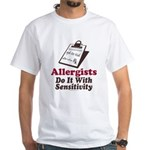 Allergist Immunologist White T-Shirt