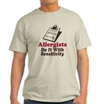 Allergist Immunologist Light T-Shirt