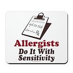 Allergist Immunologist Mousepad