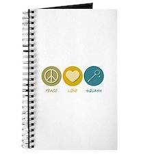 Peace Love Squash Journal