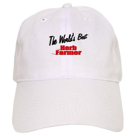 """The World's Best Herb Farmer"" Cap"