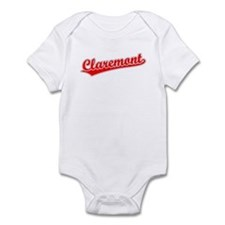 Retro Claremont (Red) Infant Bodysuit