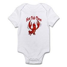 Crawfish Hot Tub Infant Bodysuit