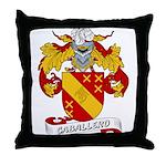 Caballero Family Crest Throw Pillow