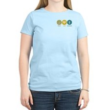 Peace Love Sociology T-Shirt