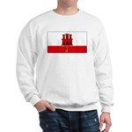 Gibraltar Blank Flag Sweatshirt