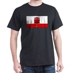 Gibraltar Blank Flag Dark T-Shirt