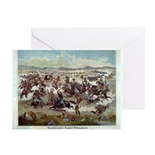 Cute Custers last stand Greeting Cards (Pk of 10)