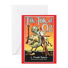 Tik - Tok Of Oz Greeting Card