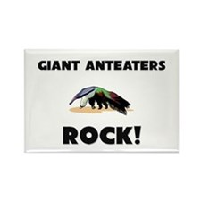 Giant Anteaters Rock! Rectangle Magnet (10 pack)