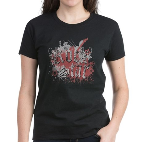Rock Star Womens T-Shirt