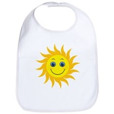 Smiling Mr. Sun Bib