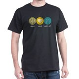Peace Love Shot Put T-Shirt