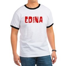 Edina Faded (Red) T