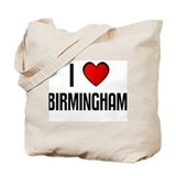 I LOVE BIRMINGHAM Tote Bag