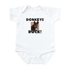 Donkeys Rock! Infant Bodysuit
