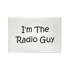 I'm The Radio Guy Rectangle Magnet