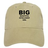 Beautiful Intelligent Girl Baseball Cap