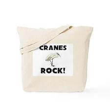 Cranes Rock! Tote Bag