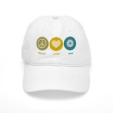 Peace Love Saw Baseball Cap