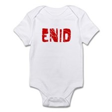 Enid Faded (Red) Infant Bodysuit