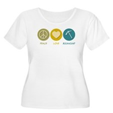Peace Love Rockhound T-Shirt