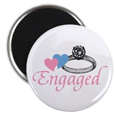 "Engaged 2.25"" Magnet (100 pack)"