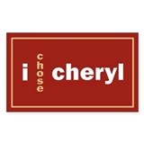 CHERYL 1.0 Rectangle Decal