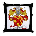 Camacho Family Crest Throw Pillow