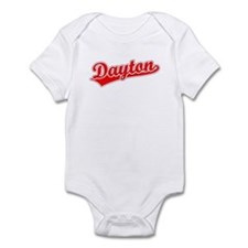 Retro Dayton (Red) Infant Bodysuit