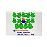 Different FROGS 1 (Grandson) Rectangle Magnet