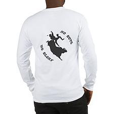 Bull Riding #1031r Long Sleeve T-Shirt