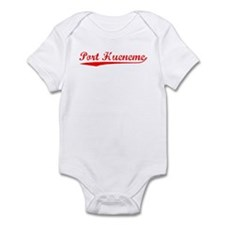 Vintage Port Hueneme (Red) Infant Bodysuit