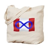 Metis Nation Tote Bag Canada Metis Flag Bags Gifts