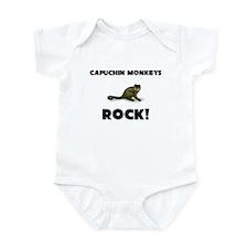 Capuchin Monkeys Rock! Infant Bodysuit