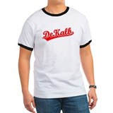 Retro DeKalb (Red) T