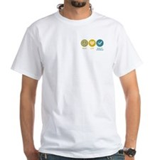 Peace Love Quality Assurance Shirt