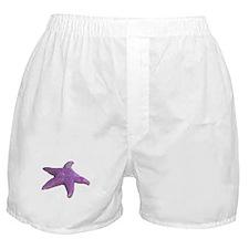 purple starfish Boxer Shorts