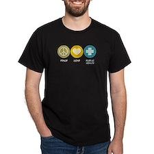 Peace Love Public Health T-Shirt