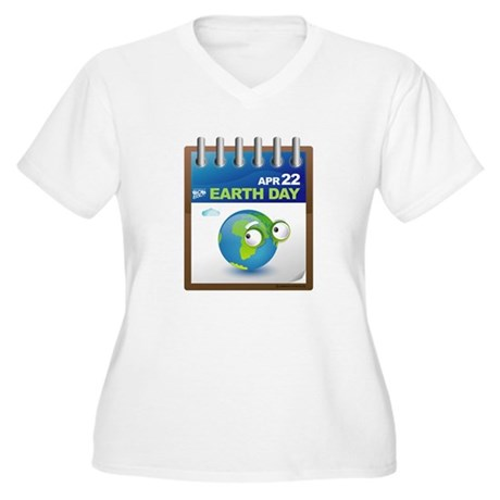 Earth Day - Diary Women's Plus Size V-Neck T-Shirt