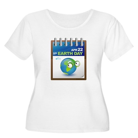 Earth Day - Diary Women's Plus Size Scoop Neck T-S