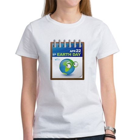 Earth Day - Diary Women's T-Shirt
